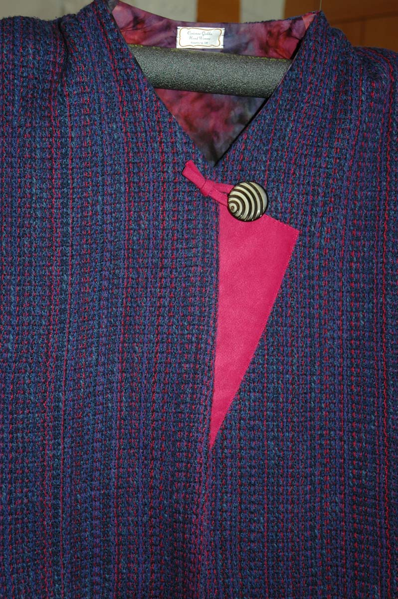 Detail Petunia in the Pansy Patch Vest