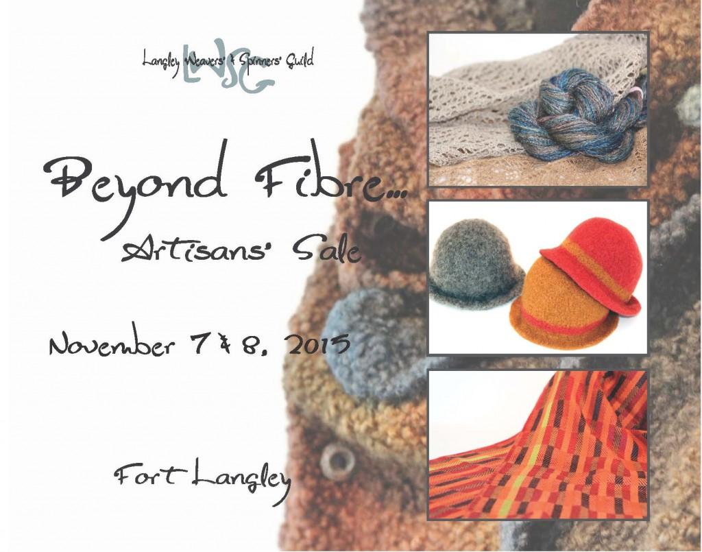 Beyond Fibre Artisan Sale 2015